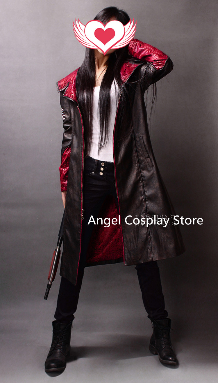Christmas Hallowmas DMC Devil May Cry 5 Dante Party Fashion Uniform Suit Cosplay Costume Just One Coat XS-3XL Free Shipping