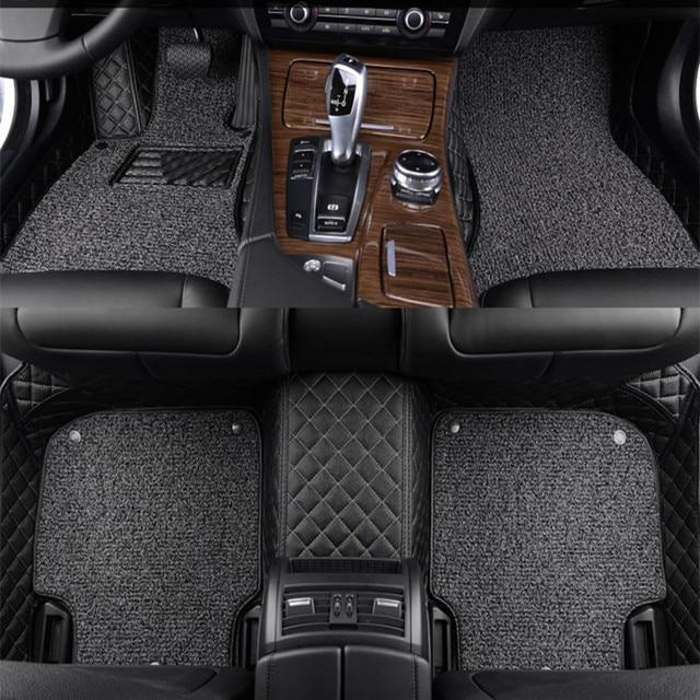 leather wire car floor mats for toyota 86 fj cruiser rav4 crown