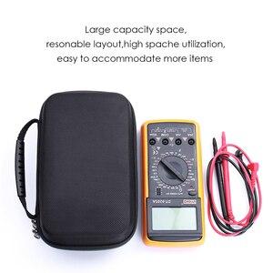 Image 4 - Sert EVA taşınabilir seyahat depolama kapak çanta Fluke 117/116/115/114/113/87V/88V/F15B +/F17B +/F18B + daha fazla dijital multimetre