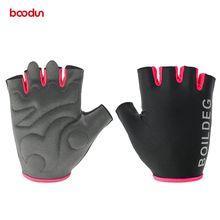 미끄럼 방지 반 손가락 역도 장갑 Unisex Road MTB 자전거 자전거 장갑 Mountain Bike Riding Sports Gloves