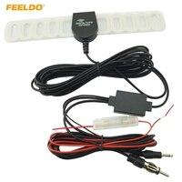 FEELDO 2EM1 Carro TV/FM Antena de TV Antena de Rádio Com Amplificador Booster # FD-892