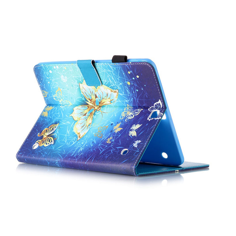 Tab S2 9.7 Inch PU Leather Case For Samsung Galaxy Tab S2 9.7 T810 T815 Case Cover Tablet Fashion Butterfly Pattern Shell Funda