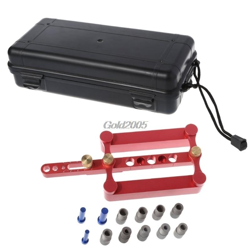 Self Centering Dowelling Jig Metric Dowel 6/8/10mm Drilling Tools Woodworking S11 Drop ship