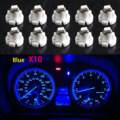 10pcs Blue T4/T4.2 Neo Wedge LED Bulb Cluster Instrument Dash Climate Base Lights DXY88