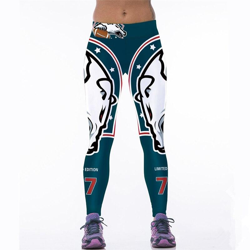 Hoge Taille Dames Sport Leggings Slanke Gym Sportkleding Fitness - Sportkleding en accessoires - Foto 1