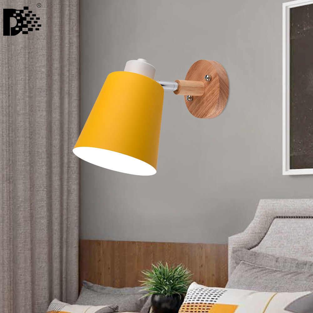 """Современная спальня современный простой Гостиная Прихожая задний план стены творческий настенный светильник лампы """"макарон"""" с ночники"""