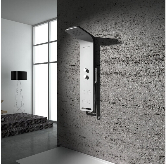 Solid Surface Stone Shower Panel Artificial Stone
