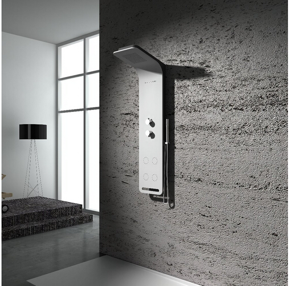 Solid surface stone shower panel artificial stone Multifunction wall ...