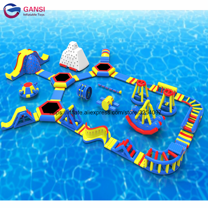 Giant inflatable aqua park equipment game commercial inflatable water park for sale