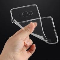 DHL Wholesale 100pcs Soft Transparent Case Clear TPU Cover For Samsung Galaxy S3 S4 S5 mini S6 S7 edge A3 A5 A7 A310 A510 A710