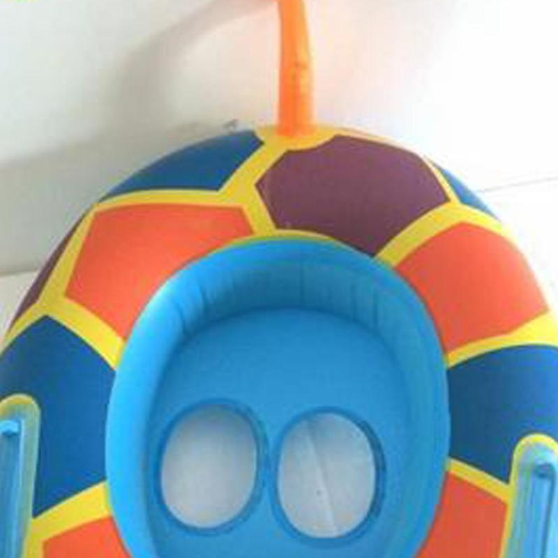 Mini Inflatable Tortoise Pool Float Beach Kids Baby Bathing Toys Party Decoration Swimming Ring Inflatable Toy