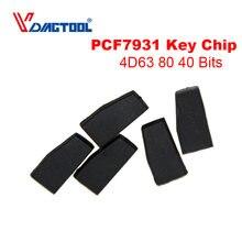 1 sztuk Auto Chip transpondera 4D63 ID83 83 63 4D 40 80 bity samochód ceramiczny klucz puste Chip dla Ford Mazda dla ford OEM megamos