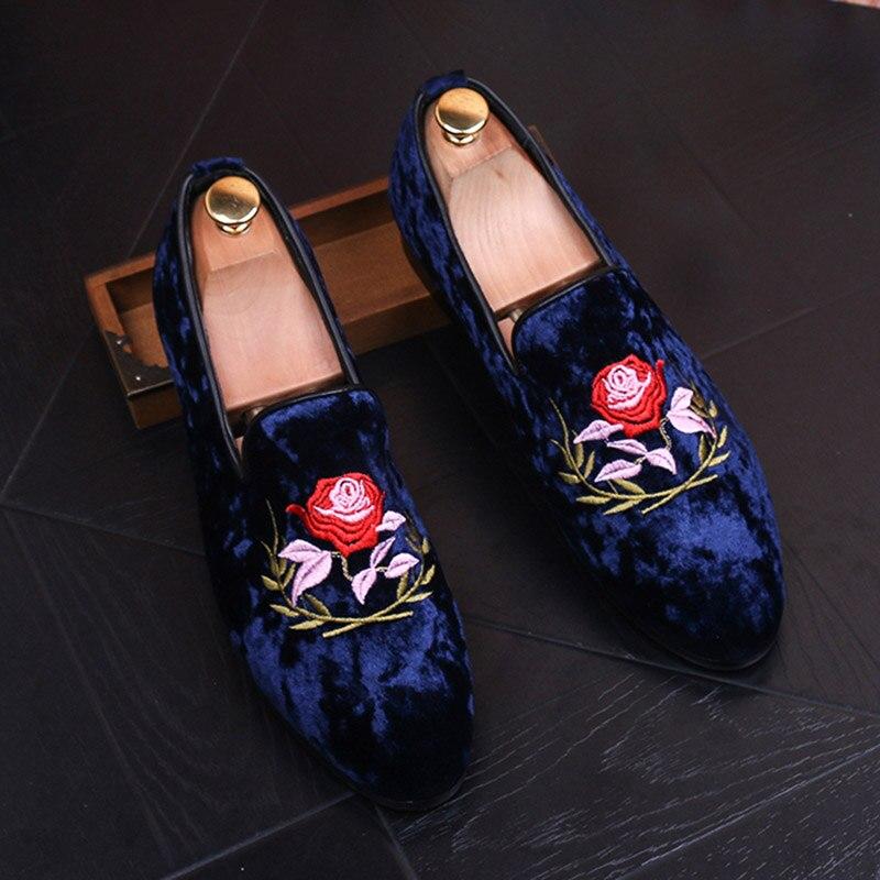 Модная мужская обувь в Корейском стиле; замшевые мокасины с круглым носком; мужские повседневные Кожаные Замшевые туфли; вечерние туфли; бо
