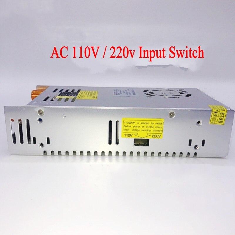 AC-DC Converter Digital display current Voltage adjustable Switch regulated power supply DC 12V 24v 36v 48v 60v 80v 120v 480W-3