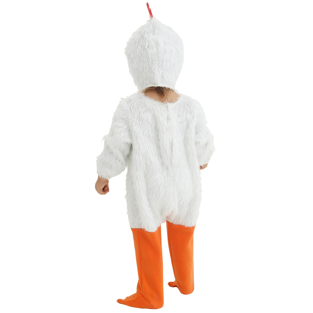 Childrens Plush Chicken Fancy Dress Costume Easter Childs Kids Outfit M