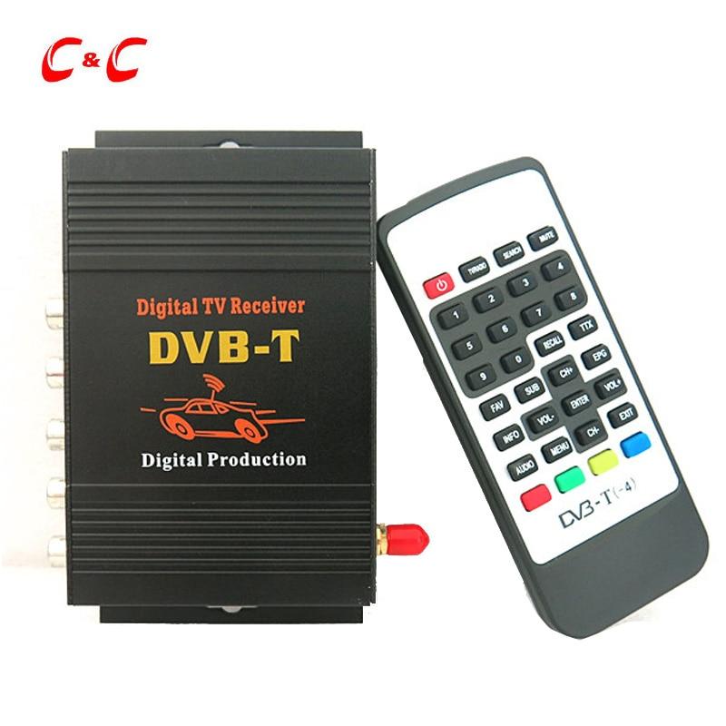 140-190km/h Car Mobility DVB-T Digital TV Tuner Receiver BOX MPEG2 MPEG4 AVC/H.264 with USB HDMI Slot for Car DVD Player LCD TV комплект рубашка и футболка piazza italia piazza italia pi022ebwqj39