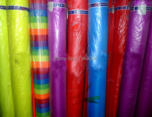 free shipping high quality 10m x1 5m ripstop nylon fabric various colors choose 400inch x 60in