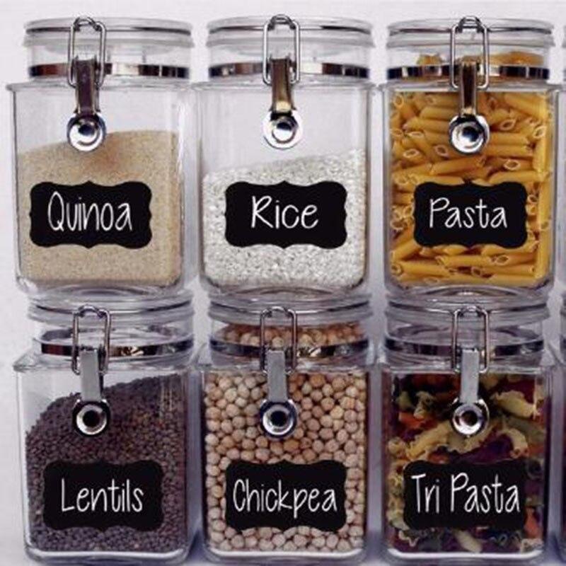 decorative jar labels