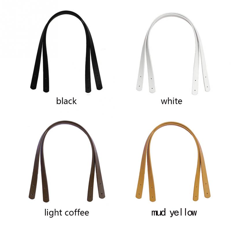 Herald Fashion PU Leather Bag Strap Handle Shoulder Bag Belt Band For Women Handbag Handmade DIY Accessories(China)