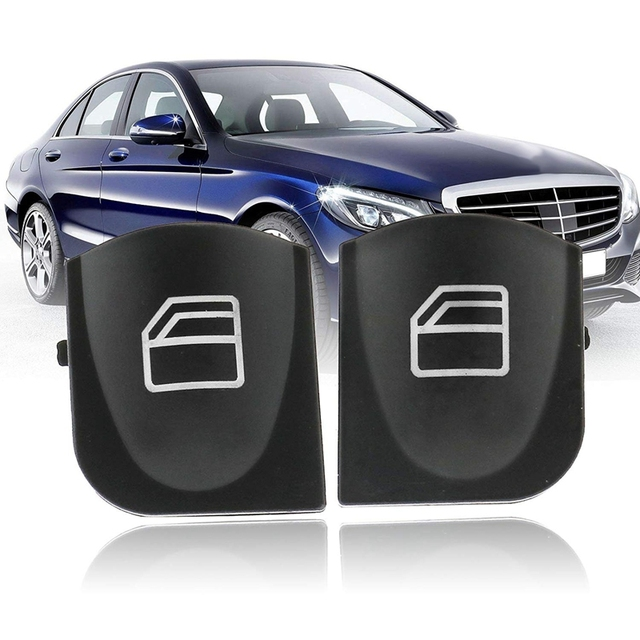 Master Window Switch Cover Caps Voor Mercedes W209 A2038210679 / 2038200110