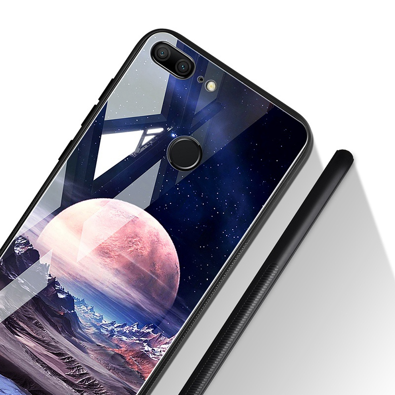 Odifren Space Case on for Huawei Honor 9 Lite 10 Case Cover Mate 10 Lite Glass Coque Phone Case for Huawei P20 Lite Pro P Smart (10)
