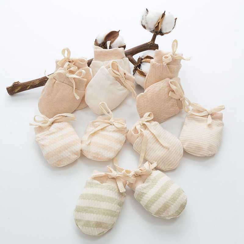 1 пара, детские зимние Утепленные перчатки, детские перчатки против царапин, перчатки для новорожденных, детские защитные перчатки для лица
