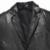 Adapta a La Chaqueta de Cuero Genuino de los hombres del Otoño prendas de Vestir Exteriores de Cuero genuino/Negro/Delgado/Estilo Simple Negocio/Traje de piel de Oveja escudo 15S1503
