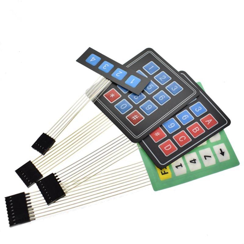 matrix keyboard for arduino 1x4 3x4 4x4 4x5 matrix array matrix keypad 4 12  16 20 keys membrane switch expansion module avr diy
