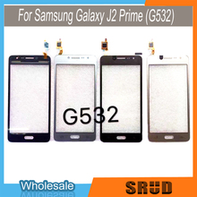 10Pcs 5.0 touch panel replacement For Samsung Galaxy J2 Prime SM G532 Touch Screen Digitizer Sensor Front Glass Lens for samsung galaxy grand prime plus j2 prime housing front frame chassis camera lens battery cover touch screen sensor g532