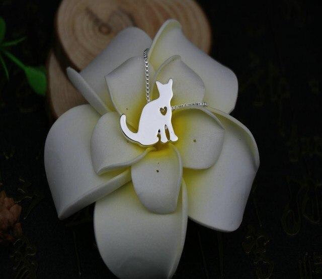 Фото ожерелье для кошки с подвеской в виде животных подарок на день