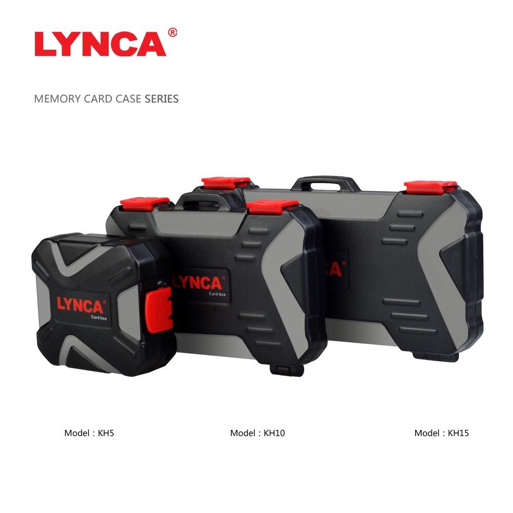 LYNCA étuis de carte mémoire étanche stockage Sim Micro TF carte SD boîte de rangement titulaire portefeuille sac de transport étui de Pouce