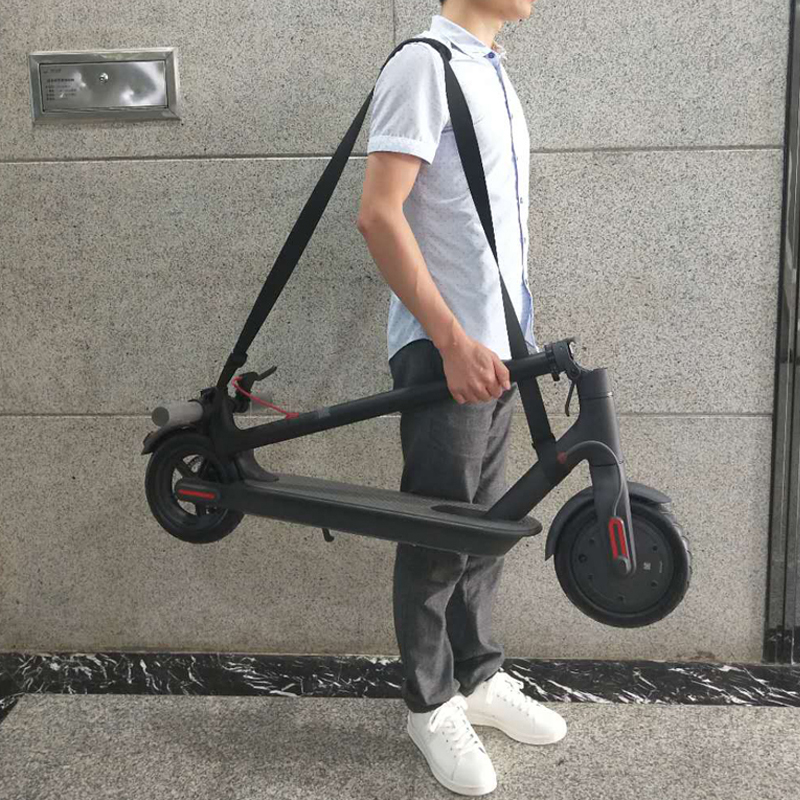 Xiaomi Mijia M365 Scooter Hand Carrying Handle One Shoulder Straps Belt Webbing for Ninebot ES1 ES2 Skateboard Qicycle EF1 Bike