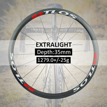 700c wheelset Extralight carbon wheels 1279g Warranty 2  years  road clincher 35mm depth road bike wheels - WRC-35L elite aff dt 350s carbon road bike wheel 25mm or 27mm width tubular clincher tubeless 700c carbon fiber bicycle wheelset