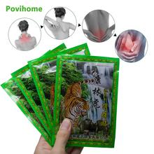 8Pcs Bag Neck Back Body Pain Relaxation Pain Plaster Tiger Balm Joint Pain Patch Killer Body Back Relax C1489 cheap Povihome 10 * 7 5 cm Pain Relief Plaster 8pcs 1bag