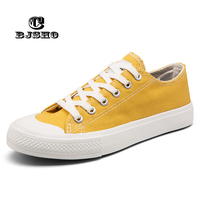 CBJSHO Men S Vulcanize Shoes Summer Canvas Shoes Men Breathable Shoes Male For Solid Flat Lace