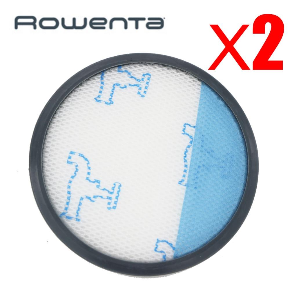 2pcs Filtros HEPA para Rowenta Compact Power Cyclonic RO3753EA RO3718EA RO3724EA RO3731EA RO3786EA RO3798EA Aspiradoras