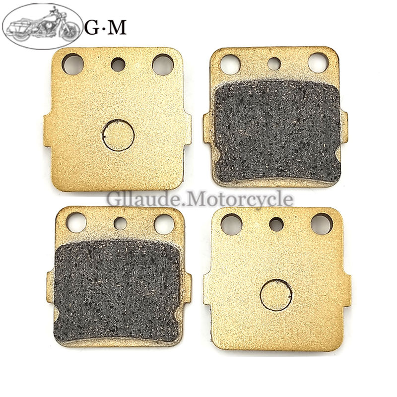 Motorcycle Front Brake Pads For Honda TRX 250 EX1/2/3/4/5/6/7/8/X9/XA/XB 2001-2014(China)