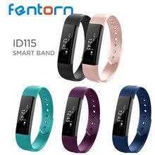 Fentorn ID115 спортивные смарт-браслет с сообщения вызова напоминание шагомер Фитнес трекер Smart Band наручные часы Smart Браслет