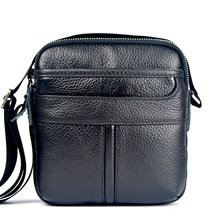 Messenger Bag Men Leather Genuine Men's Crossbody Bags Famous Brand Shoulder Bags For Male Casual Business bolsas 2016