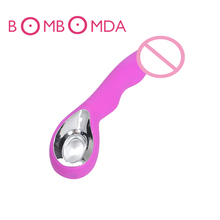 USB Rechargeable G Spot Vibrators Orgasm Sex Machine Clitoris Stimulator Magic Wand Massager Waterproof Toys For Women