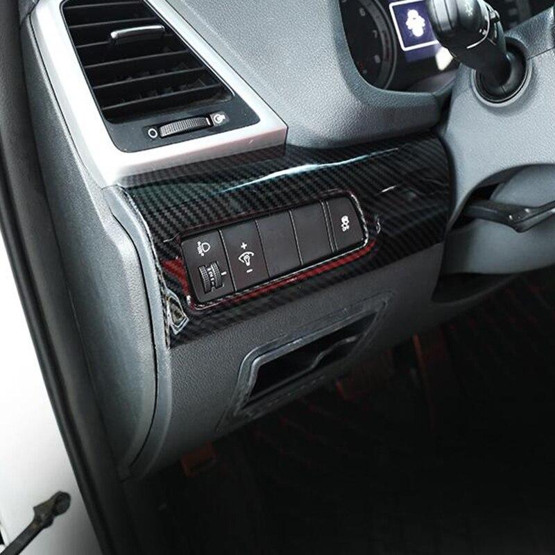 Купить для hyundai tucson 2019 abs углеродное волокно автомобильный
