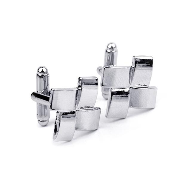 Luxury Elegant Vintage Silver Cuffink For Men