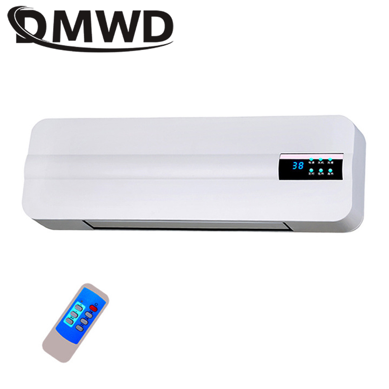DMWD Wall-mounted Electric Air Heater Fan Wall Hanging Warm Cool Wind Blower Warmer Room Ceramic Thermal Heating Stove Radiator