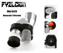 Hot Silver Sale Portable Mini 8X20 Monocular Telescope HD Adjustable Optical For Outdoor Hunting Spotting Scope