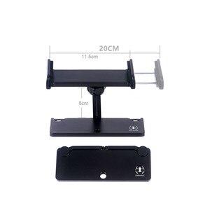 Image 2 - Удлинитель для пульта дистанционного управления DJI Air 2, держатель для планшета и телефона, алюминиевый, для дрона Mavic 2/Mavic mini/Mavic Pro /SPARK, 1 комплект