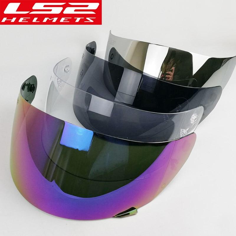 Bouclier de remplacement pour LS2 FF352 casque intégral moto casque objectif bouclier également pour LS2 FF351 FF369 FF384 casque lunettes dans Casques de Automobiles et Motos