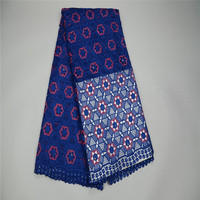 African Cord Lace Fabric Nigeria Lace Fabric Beads Guipure Lace Dress Women HJ111 1