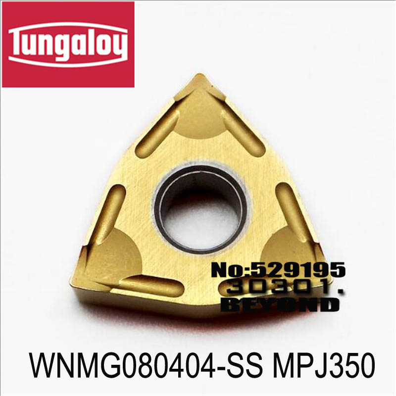 WNMG080404 SS MPJ350 WNMG080408 SS MPJ350 turning insert original tungaloy tungsten carbide insert turning tool holder