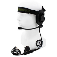 HD01 Z Tactical Bowman Elite II Headset with U94 Style PTT 2pin for baofeng UV-5R UV-82 BF-888S BF-F9 TYT KG-UV8D free shipping