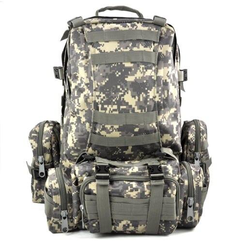 Prix pour JHO-50 L 3 Jour En Plein Air Militaire À Dos sac à dos Camping sac-AUC